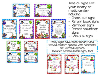 Enchanted Forest Theme LMC Pack (with editable signs and passes)