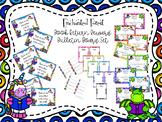 Enchanted Forest Themed Book Return Reward Bulletin Board Set