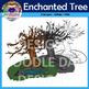Enchanted Tree Clip Art (Fall, Autumn, Spring, Everlasting