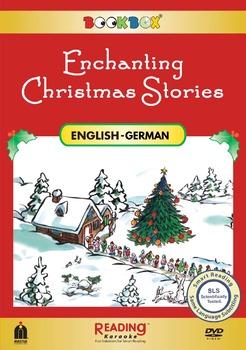 Enchanting Christmas Stories- Bilingual in German  & English-5 stories