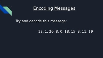 Encoding Messages