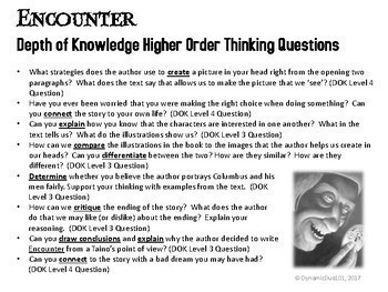 Encounter Interactive Notebook & Lapbook Activities with Test Prep Passage