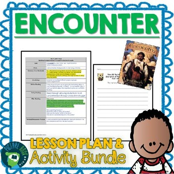 Encounter by Jane Yolen and David Shannon Lesson Plan and Activities