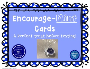 Encourage-Mint Cards