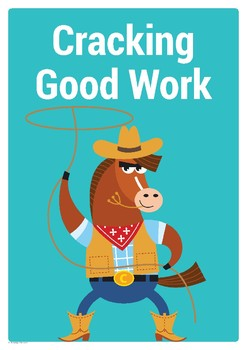 Positive Actions Poster and Tickets – Work