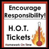Encourage Responsibility: Use H.O.T. Tickets!