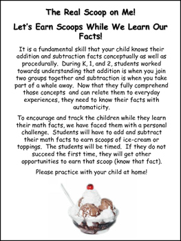 Encourage Students to practice their math fact fluency!