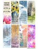 Encouragement Bible Verse Bookmarks