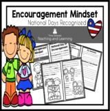 Encouragement Mindset Reader: Recognized National Days