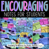 Encouragement Notes for Students