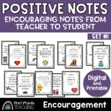 Encouragement Notes for Students, Digital and Printable