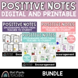 Encouragement Notes for Students, Digital and Printable BUNDLE