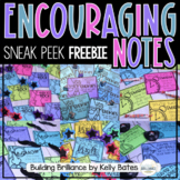 {FREEBIE} Encouragement Notes for Students