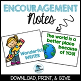 Encouragement Notes to Students