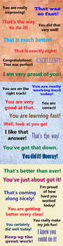 Encouragement Phrases (3 Pages) VIPKID