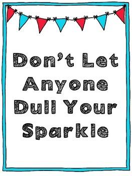 Encouragement Poster: Freebie