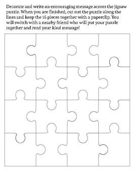 Encouragement Puzzle