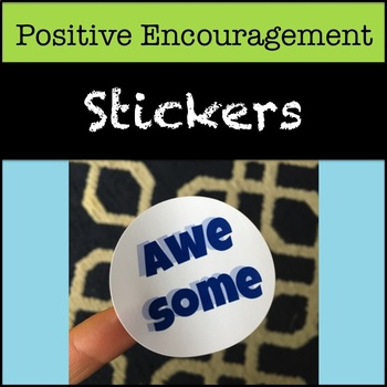 Encouragement Stickers
