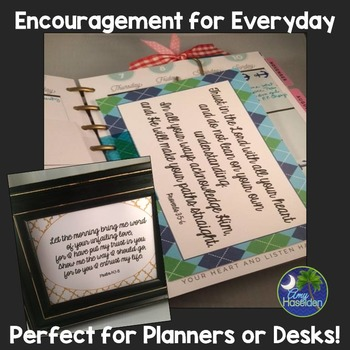Encouragement for Everyday Free Resource