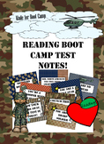 Encouraging Boot Camp Test Notes
