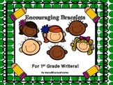 Encouraging Bracelets for Young Authors