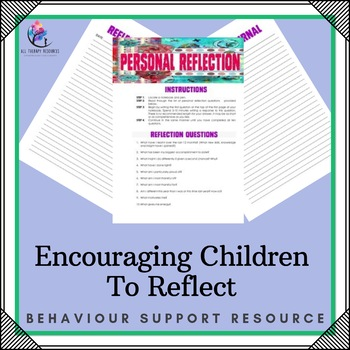Encouraging Children to Reflect - Reflective Exercise and Diary