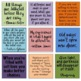 Encouraging, Growth Mindset Printable Sticky Note Templates