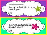 Encouraging Notes (Blank Signature)