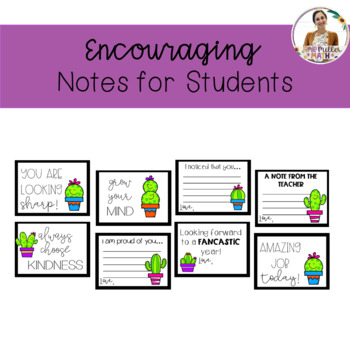Encouraging Notes for Students