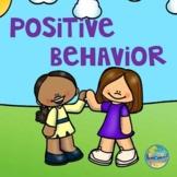 Encouraging Positive Behavior in Preschool