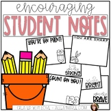 Encouraging Student Notes - Notes to Students
