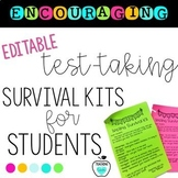 Encouraging Test-Taking Student Survival Kit