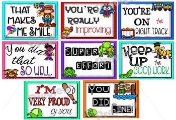 Encouraging Words Notes