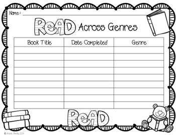 Encouraging Your Students to Read Across the Genres