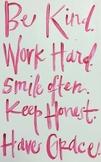 Encouraging poster