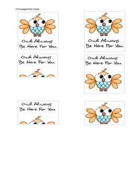 Encouragment Cards