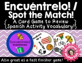 ¡Encuéntrelo: Los Pasatiempos! A Spot the Match Game for S