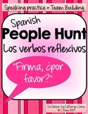 Spanish People Hunt - Reflexive Verbs, Daily Routine - Verbos Reflexivos