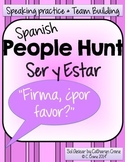Spanish People Hunt - Ser vs Estar and Adjectives