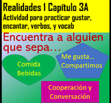 Active Cooperative Learning Realidades 1, Chapter 3A  Encuentra a Alguien...