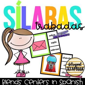 Encuentra la silaba trabada (Clip the blend in Spanish)