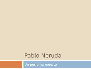 Encuentros Maravillosos chapter 2 Pablo Neruda Info ( spanish )