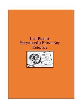 Encyclopedia Brown Boy Detective Complete Literature and Grammar Unit