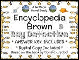 Encyclopedia Brown, Boy Detective (Donald J. Sobol) Novel Study / Comprehension
