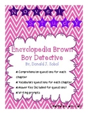 Encyclopedia Brown, Boy Detective: Novel Study