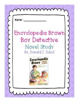 Encyclopedia Brown, Boy Detective: Novel Study