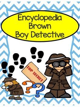 Encyclopedia Brown Boy Detective - Novel Study