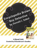 """Encyclopedia Brown, Boy Detective"" Novel Unit"