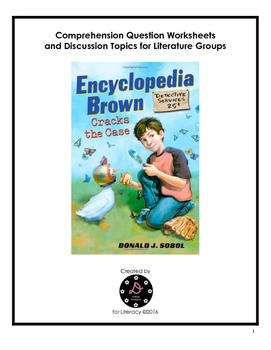 Encyclopedia Brown Cracks the Case Comprehension Questions