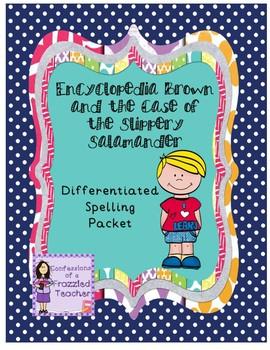 Encyclopedia Brown...Differentiated Spelling (Scott Foresman Reading Street)